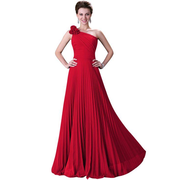 29 best Červené šaty images on Pinterest | Bridesmade dresses ...