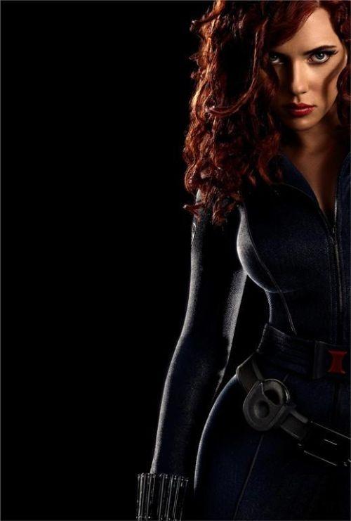"""Scarlett Johanssen as Black Widow in """"The Avengers"""""""