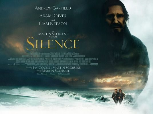 Martin Scorsese, Andrew Garfield, Adam Driver, Liam Neeson, Silence (2016), CINE ΣΕΡΡΕΣ,