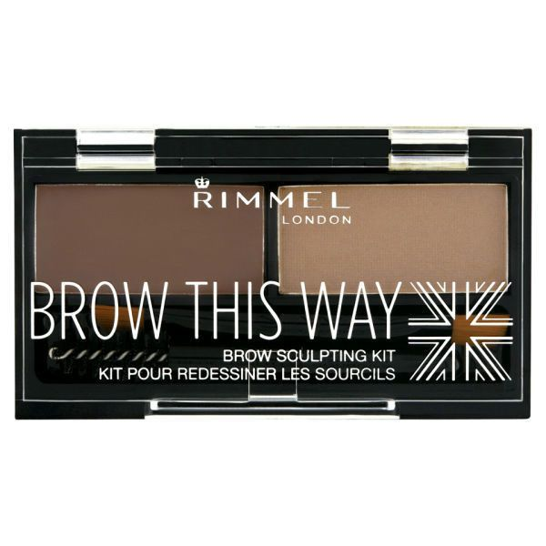 Rimmel Brow This Way Eyebrow Kit - Medium Brown ($5.78) ❤ liked on Polyvore