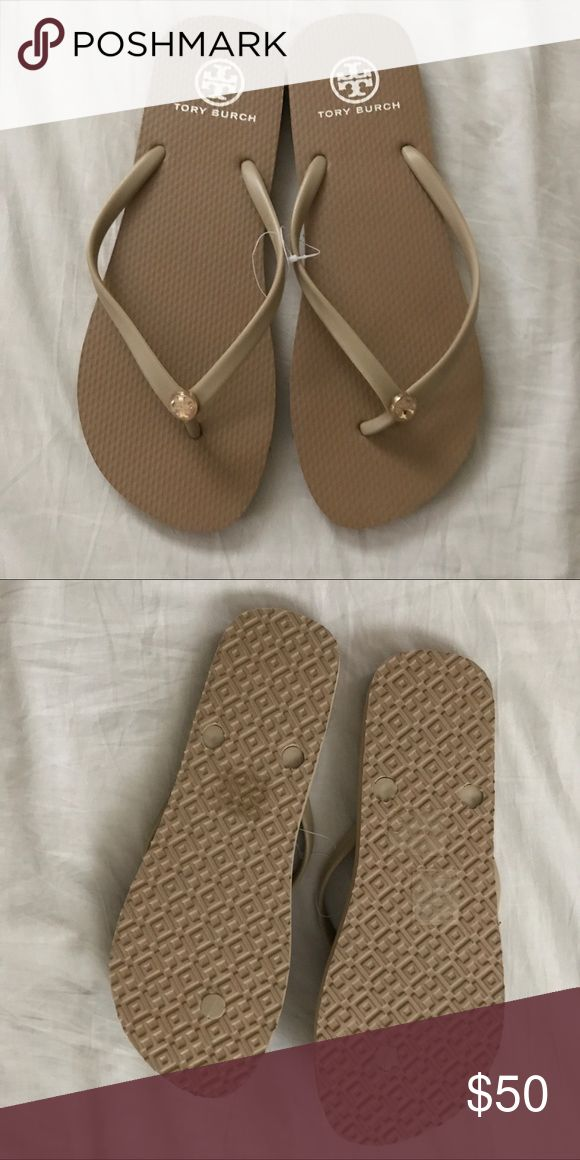 Flip flops New without box Tory Burch Shoes Slippers