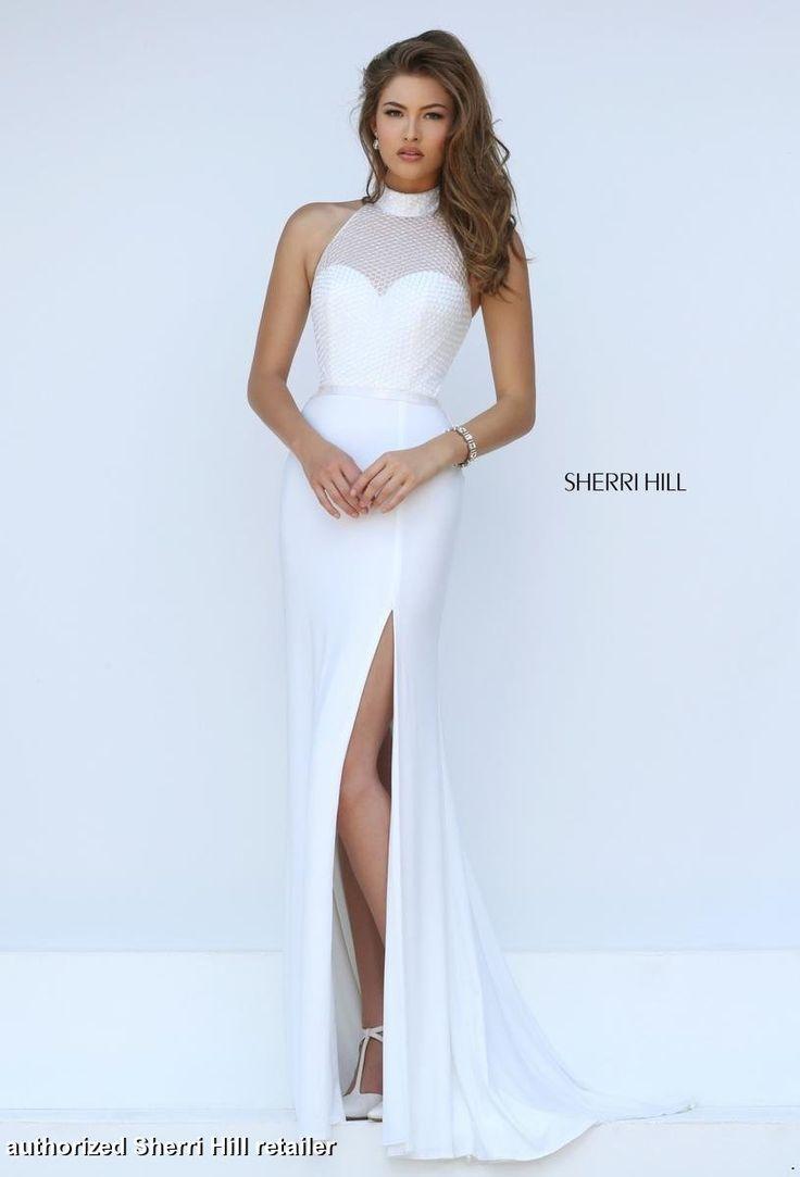 Resultado de imagen de white prom dress