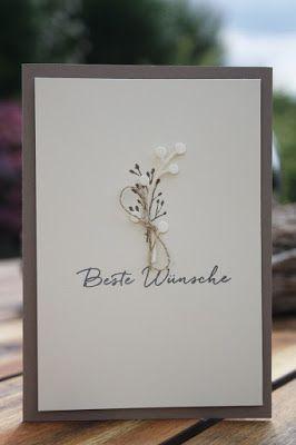Danielas Stempelwelt: Durch die Blume