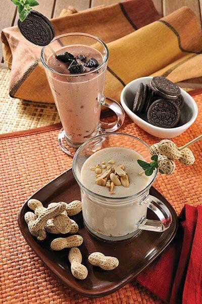 Atole de cacahuate