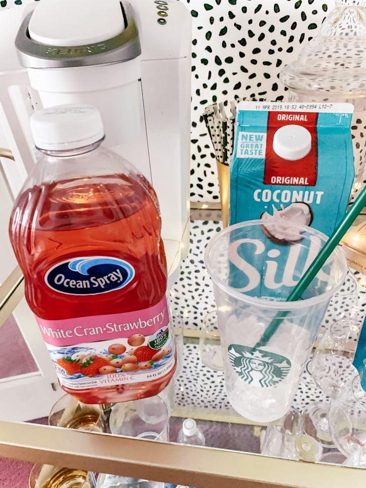 DIY Pink Drink Recipe Starbucks   – Food