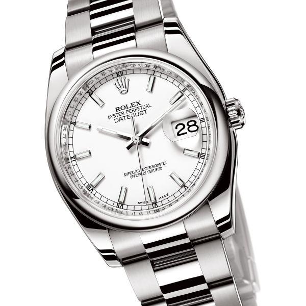 La Cote des Montres : Prix du neuf et tarif de la montre Rolex - Oyster Perpetual - Datejust II - Appliques-or - 116300