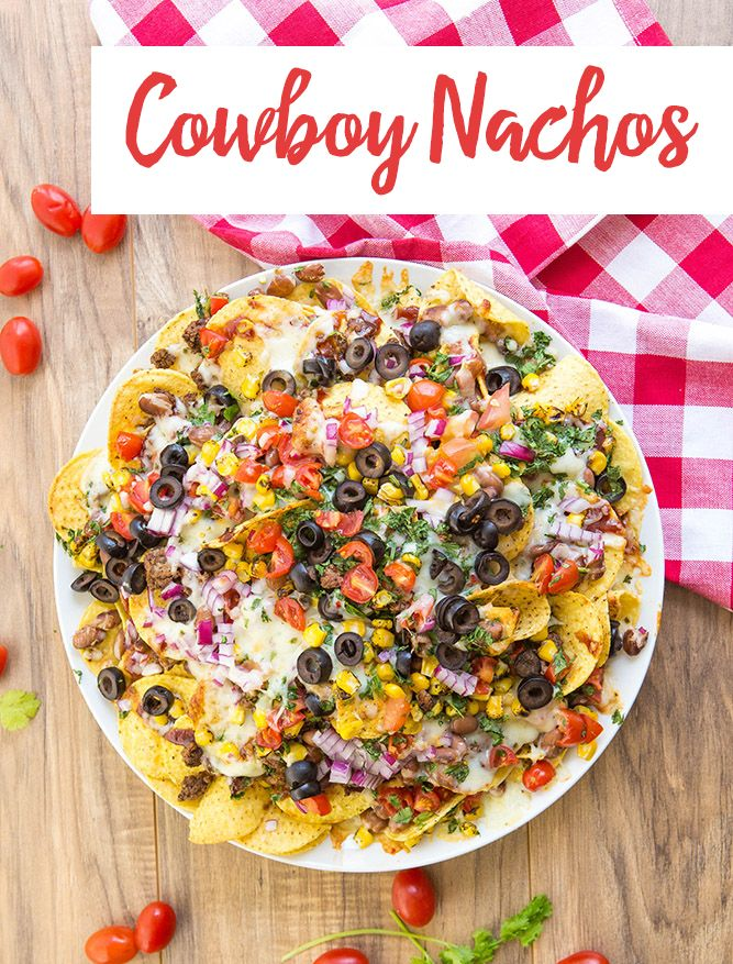 Take loaded nachos to the next level with this Cowboy Nachos recipe.