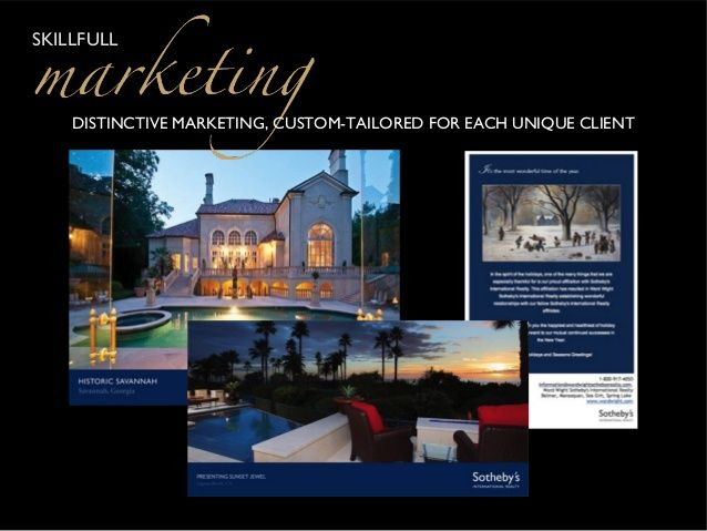 Sothebys real estate postcards google search real for Real estate home ideas