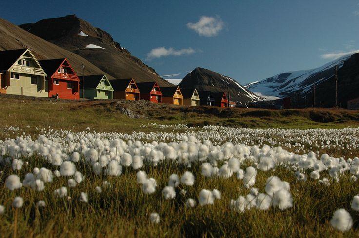 Longyearbyen, Norvège. | 18 villes colorées qui vont vous donner envie de déménager