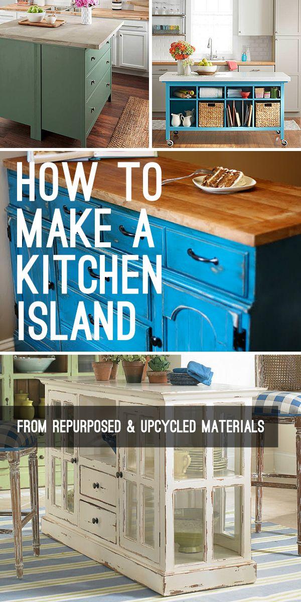 How to Make a Kitchen Island DYSS \u2022 DIY Home Decor Ideas