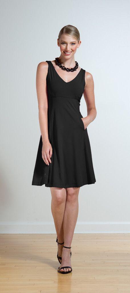 Miik Empire Waist Dress - The Petite Alternative #petitedresses  #springdresses #madeinCanada