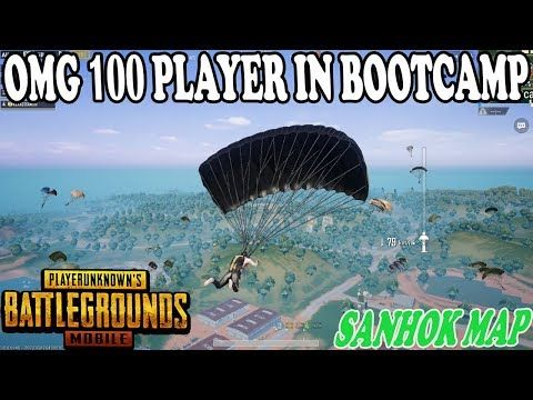 OMG 😱 100 PLAYERS IN BOOTCAMP SANHOK MAP BIG FIGHT | SARE