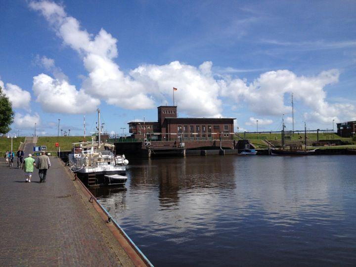 Hafen Harlesiel in Harlesiel, Niedersachsen
