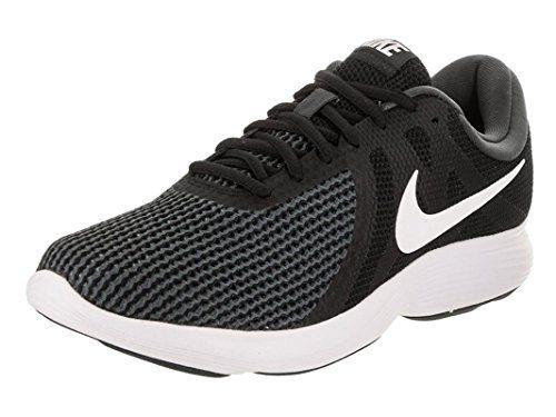 NIKE Men's Revolution 4 Running Shoe Black/White/Anthracite Size 11.5 M US
