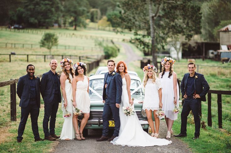 bridal party | Laura and Kranz | Australia wedding | Jac and Heath Photography