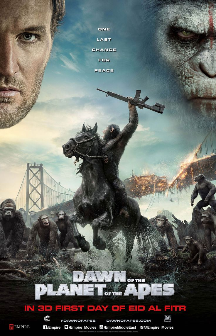 Get a chance to win 10 invites to the 3D Premiere Screening of 'Dawn of the Planet of the Apes'