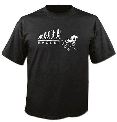 T-Shirt-Kapuzenpulli-Sweatshirt-EVOLUTION-DOWNHILL-Mountainbike-Dirt-S-5XL