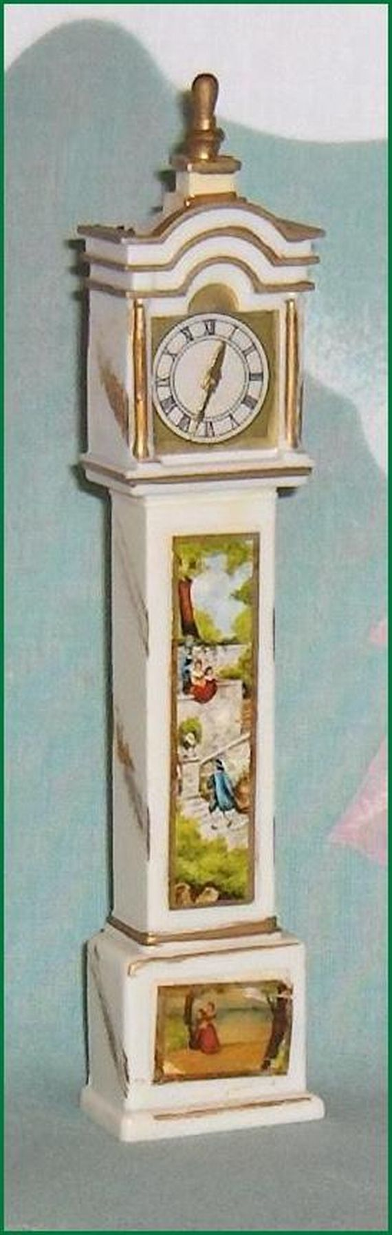 Vintage Dollhouse Furniture For Sale Part - 43: ON SALE Grandfather Clock Petite Princess Vintage Dollhouse Furniture