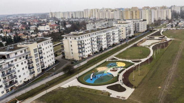 Osiedle Zacisze - Warszawa http://dronstudio.eu
