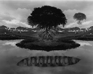 Jerry Uelsmann...would love to have one of his pieces in my house