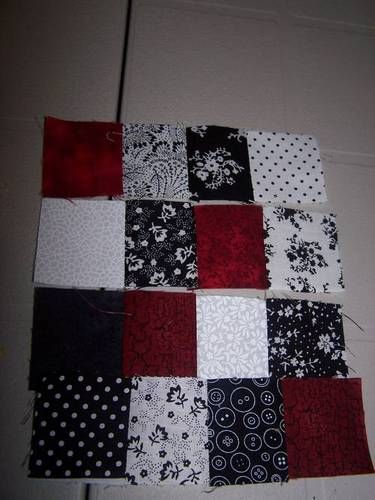 TUTORIAL for a beginner quilt!! MANY pics - QUILTING