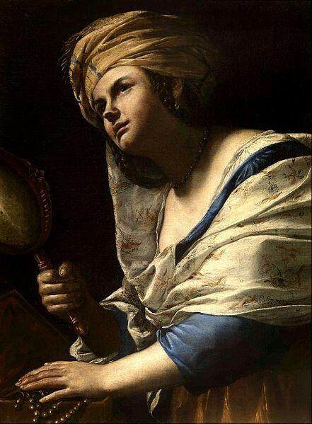 Mattia Preti(1613–1699)La Vanità MediumpaintingCurrent location