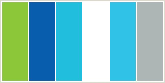 Color scheme named colorcombo137 from Blue and green colour scheme