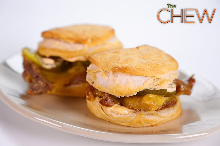 Clinton Kelly's Crispy Chicken and Biscuits #TheChew