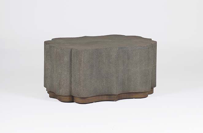 Shagreen Transitional Coffee Table