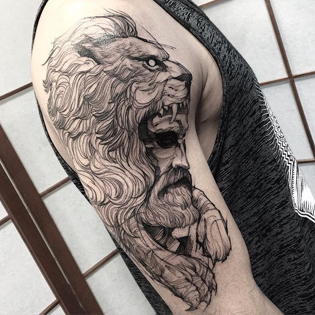Tattoo Studio Ideas Pinterest: 1000+ Ideas About Lion Arm Tattoo On Pinterest
