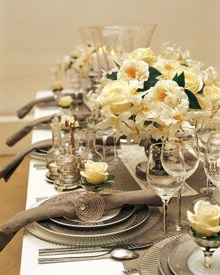 Cena formal con copas