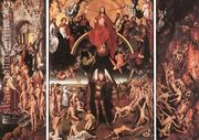 Last Judgment Triptych (open) 1467-71  by Hans Memling