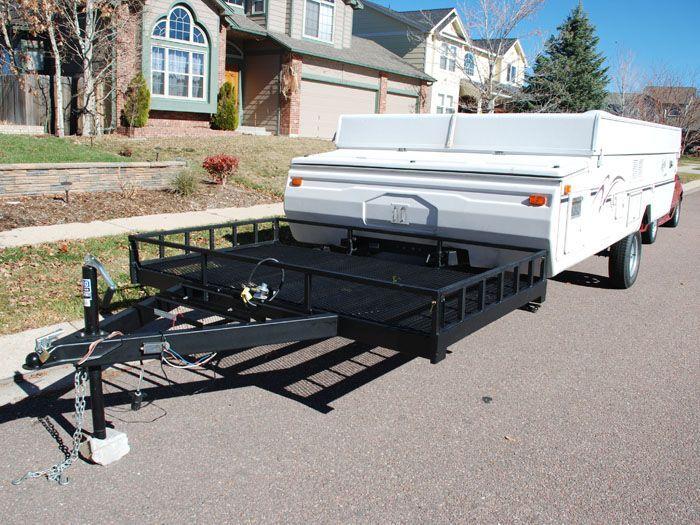 Toy Hauler Conversion ideas for pop up camper modification.