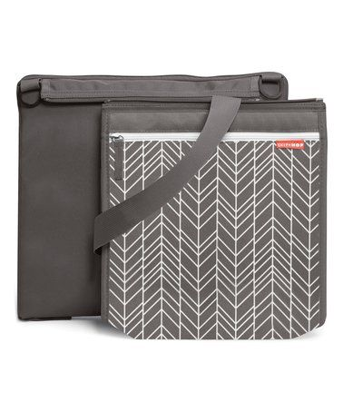 Look at this #zulilyfind! Gray Feather Outdoor Blanket #zulilyfinds