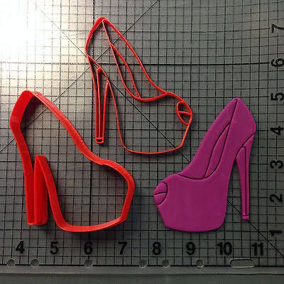 high heel cookie cutter - Google Search