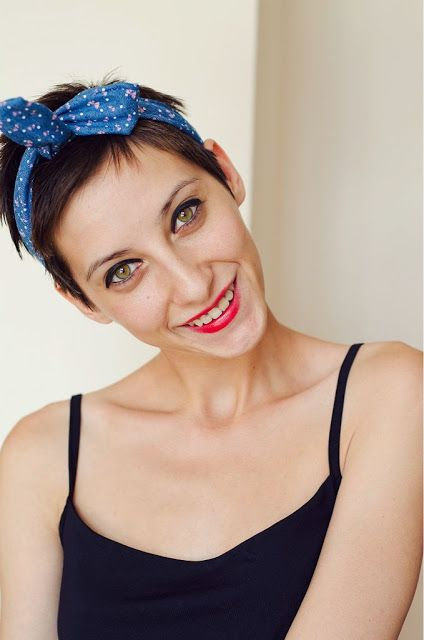 how to style hair with headband 1000 ideas about pixie hair accessories on 9905