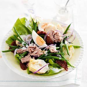 Recept - Lichte salade ni�oise - Allerhande