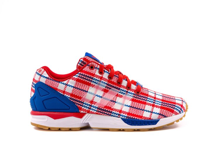 CLOT X ADIDAS CONSORTIUM ZX FLUX RED/WHT/ROYAL – PACKER SHOES