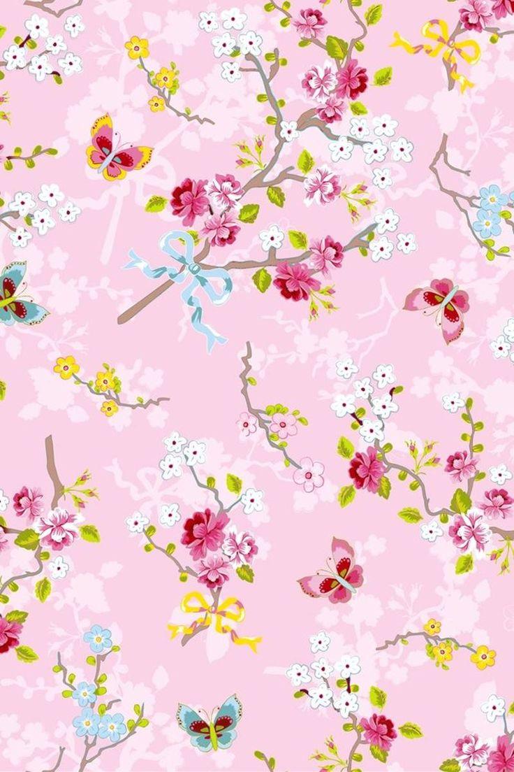 25 beste idee n over roze behang op pinterest roze achtergronden aquarel achtergrond en - De meidenkamers ...