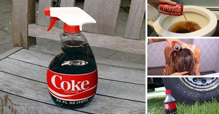 Sponsored links 1- Coca Cola anti macchia: proprio così, questa bevanda è ottima per cancellare le macchie di grasso dai tessuti. Basta applicarla sulle macchie prima di procedere al lavaggio in lavatrice 2- Carburante per autovettura: incredibile ma vero, qualcuno ha pensato – poco tempo fa – di creare una miscela a base di Coca …