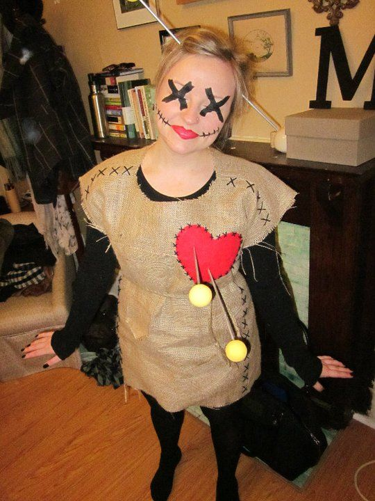 Cute. DIY: Voodoo Halloween Costume.