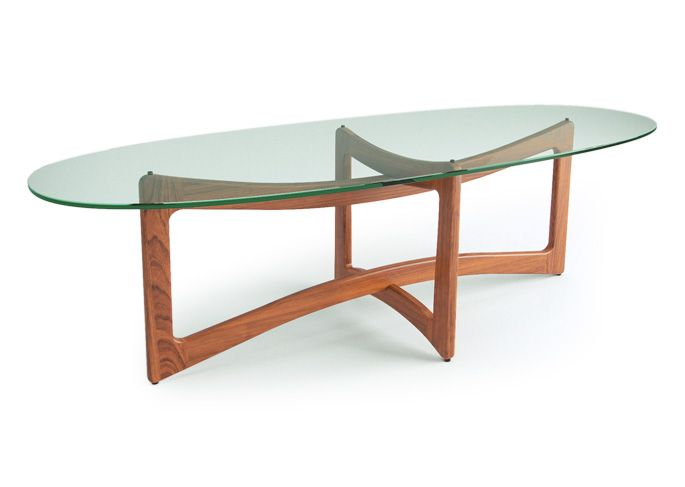 Nelson Table Furniture Dark Walnut And Coffee Tables