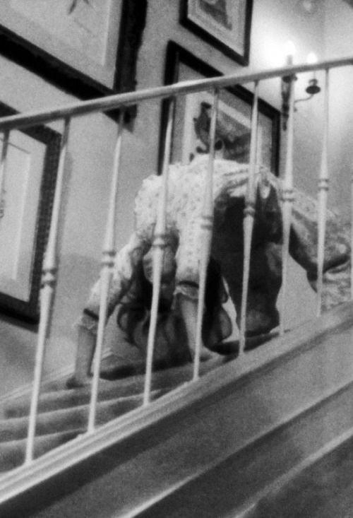"""Linda Blair's"" infamous crab-walk from The Exorcist."