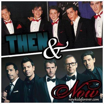 New Kids On The Block Then & Now. Just like a fine wine.