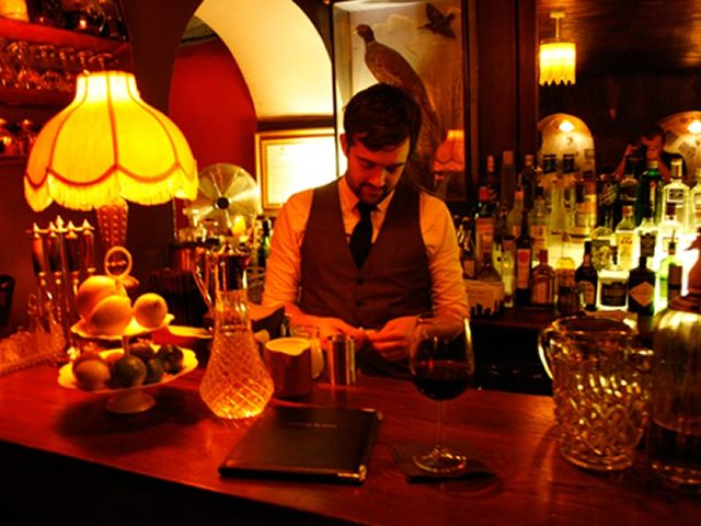This Speakeasy Style Bar, Just By The Triangle, Is The Sister Venue Of