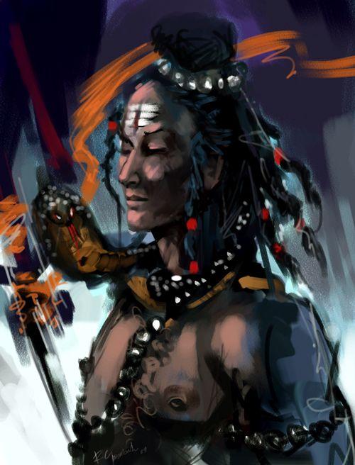 shiva abstract art #shiv #shiva #hindu #art