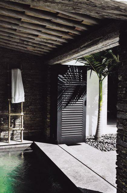 Indoor pool ♥ #bluedivagal, bluedivadesigns.wordpress.com