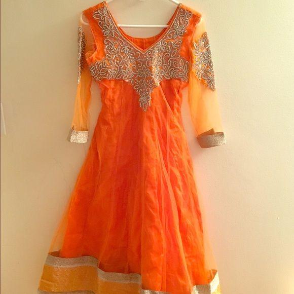 Brand new Indian anarkali dress New anarkali dress. Great for parties. Dresses Midi