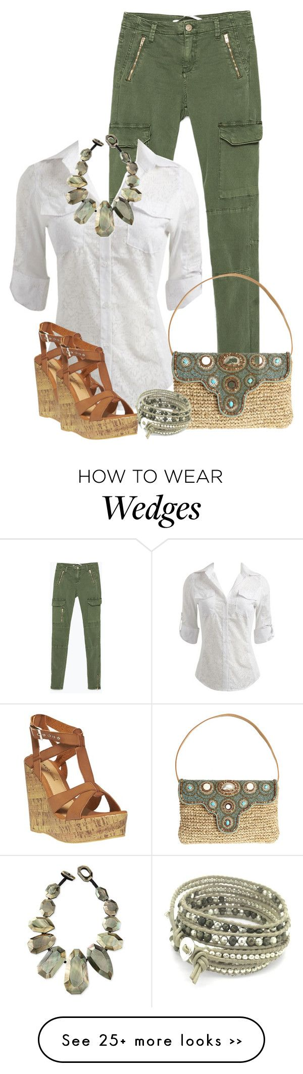 """Wedge Sandals"" by debpat on Polyvore"