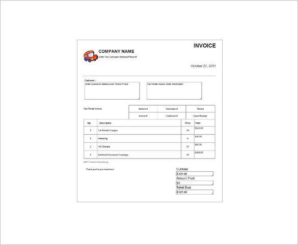 Deposit Receipt Template Receipt Template Invoice Template Word Invoice Template